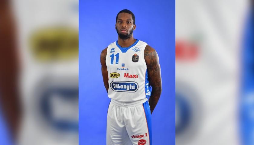Completo da gara ufficiale De'Longhi Treviso Basket, indossato da Jordan Parks nella stagione 2019/20 in Serie A