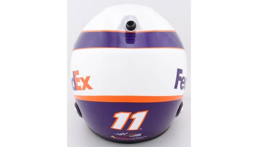 Denny Hamlin Signed NASCAR Helmet