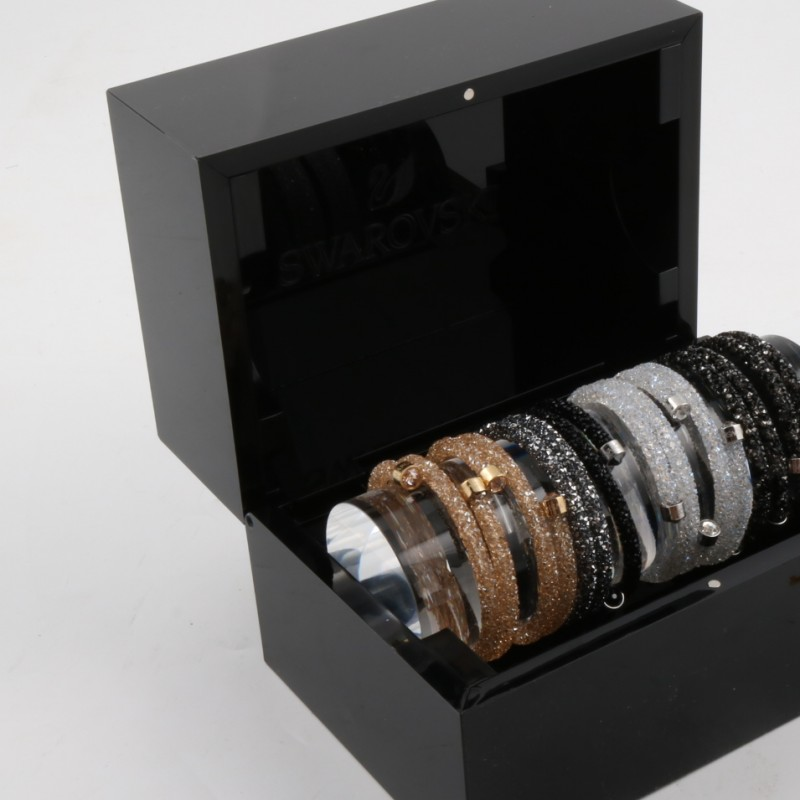 8 bracelets box Swarovski