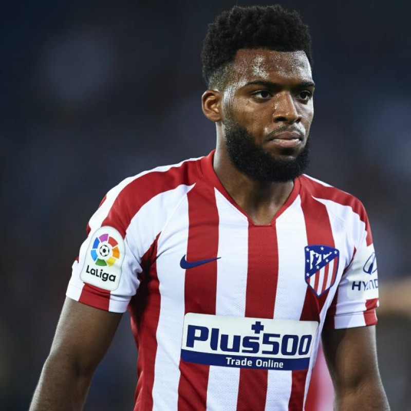 Lemar's Atletico Madrid Match Shirt, Liga 2019/20