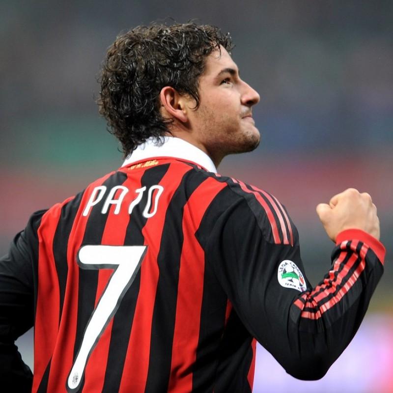 Pato's Milan Match Shirt, Serie A 2009/2010