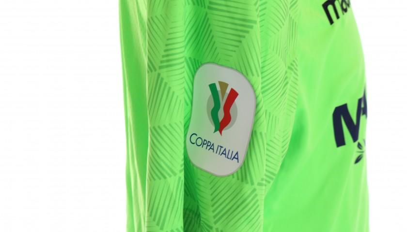 Strakosha's Match-Issued Kit, Inter-Lazio 2019