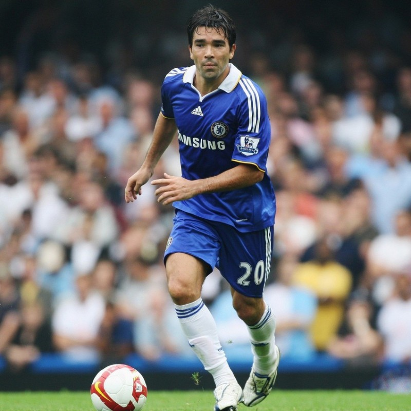 Deco's Chelsea Match-Issue/Worn Shirt, PL 2008/09