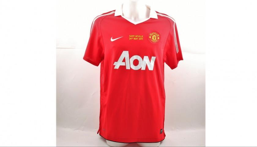 finest selection d2475 796eb Beckham's Match-Issued/Worn Match Shirt, 2011 Manchester-Juventus -  CharityStars