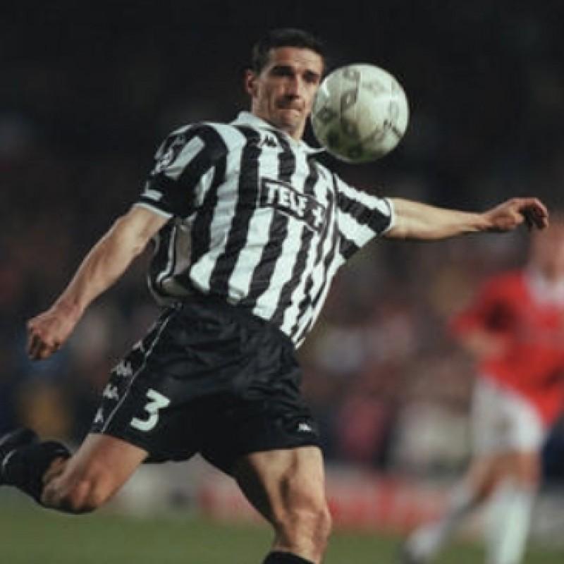Mirkovic's Juventus Match Shirt, Champions League 1998/99