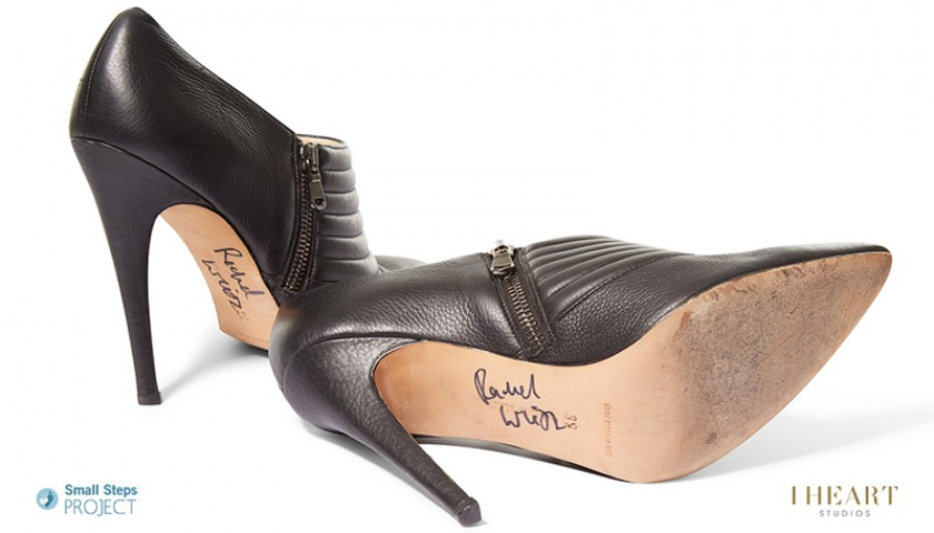 Rachel Weisz Signed Shoes