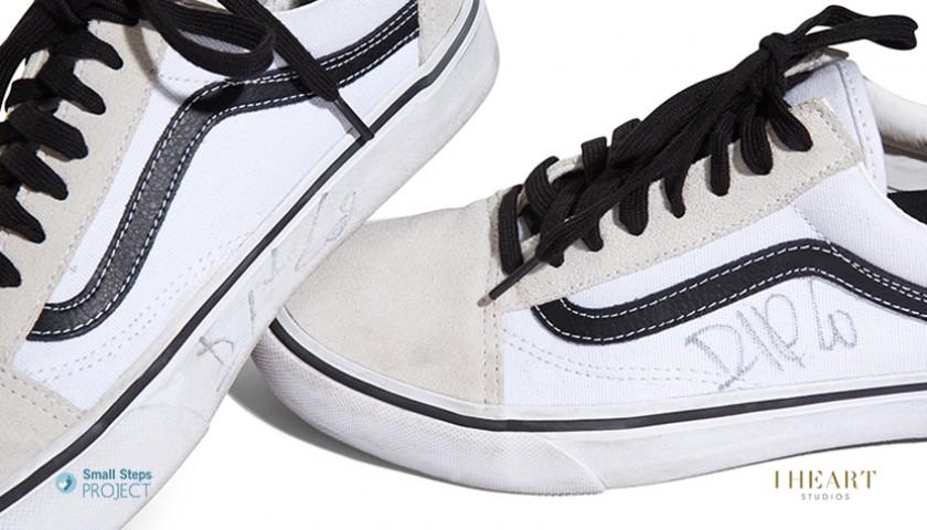 Diplo (Major Lazer) Signed Shoes