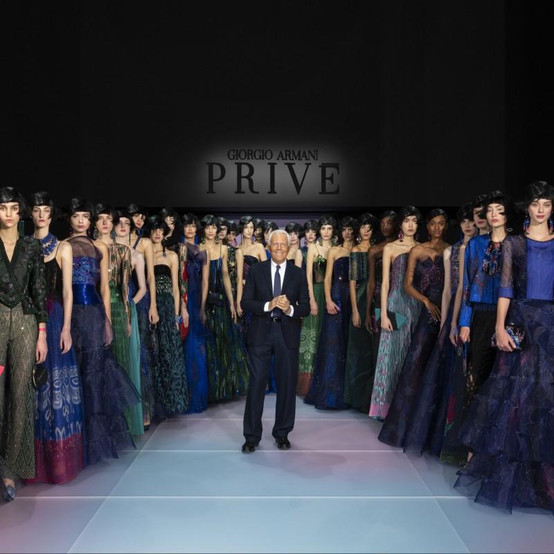 Giorgio Armani Privé - Fashion Show