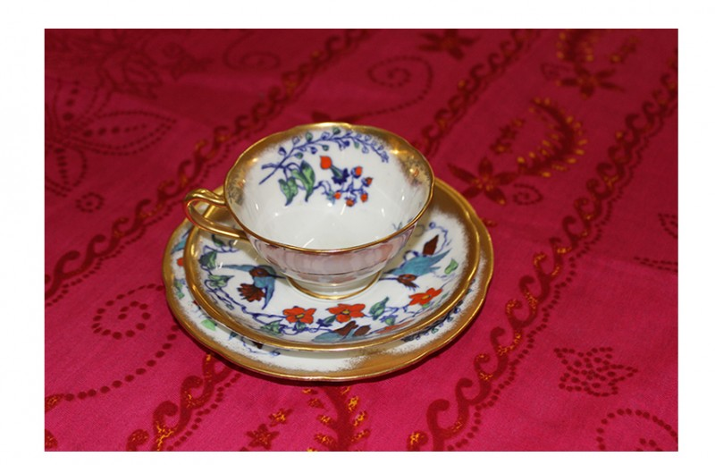 China Cup and Saucer, Set 3