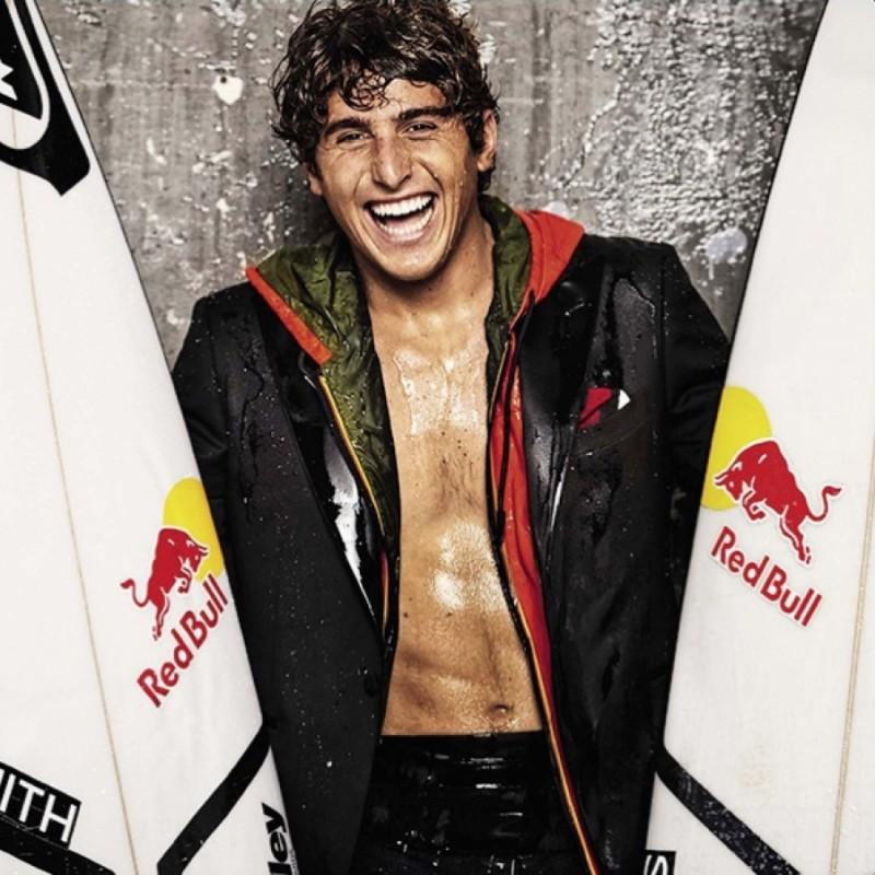 Tavola da Surf utilizzata dal campione Leonardo Fioravanti
