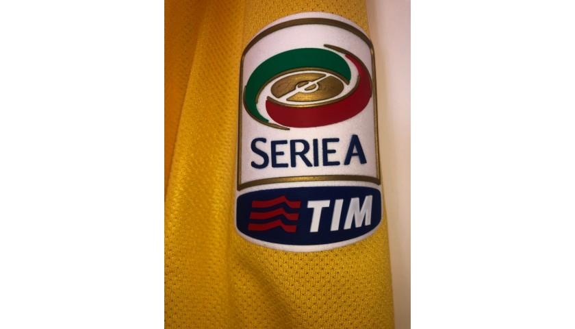 Buffon's Juventus Match Shirt, Serie A 2011/12