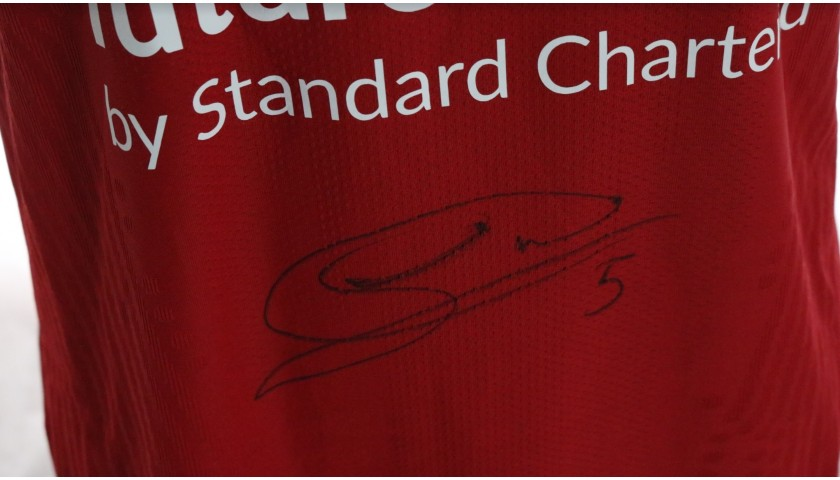 Wijnaldum's Liverpool FC Match-Issued and Signed Shirt, Limited Edition 20/21