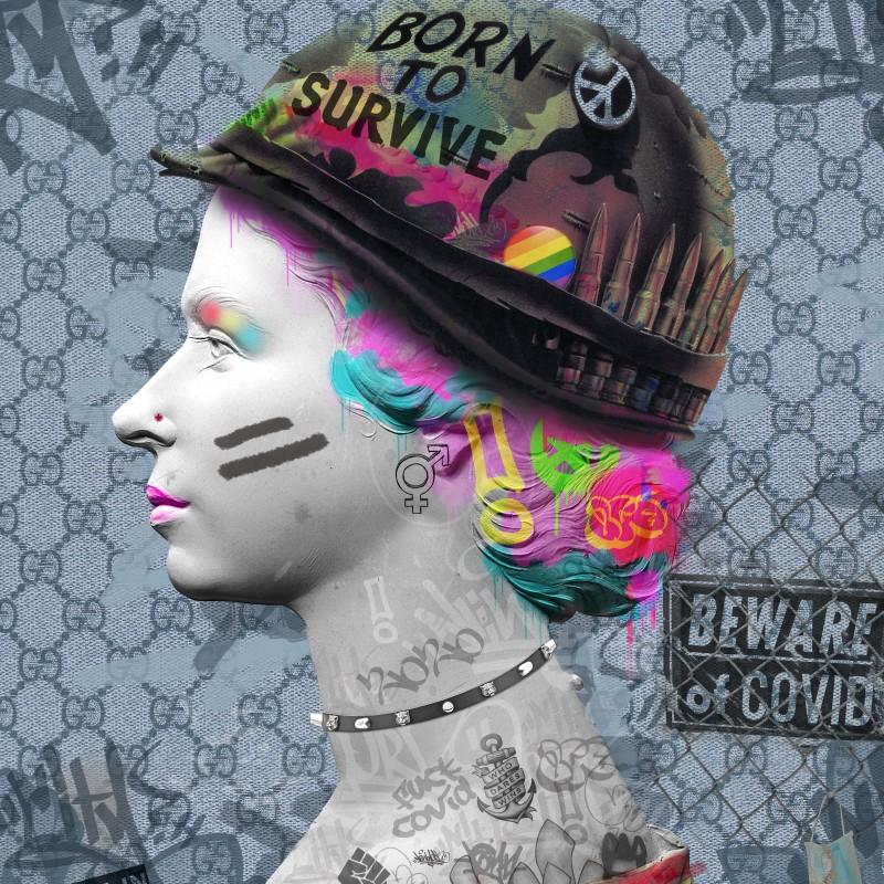 "Stampa ""Born to Survive"" di Dan Pearce"