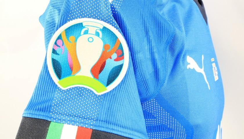 Bernardeschi's Match Shirt, Italy-Finland 2019