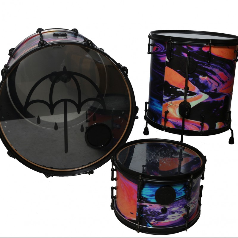 Mat Nicholls, Bring Me the Horizon 'That's the Spirit' SJC Custom Drum Kit