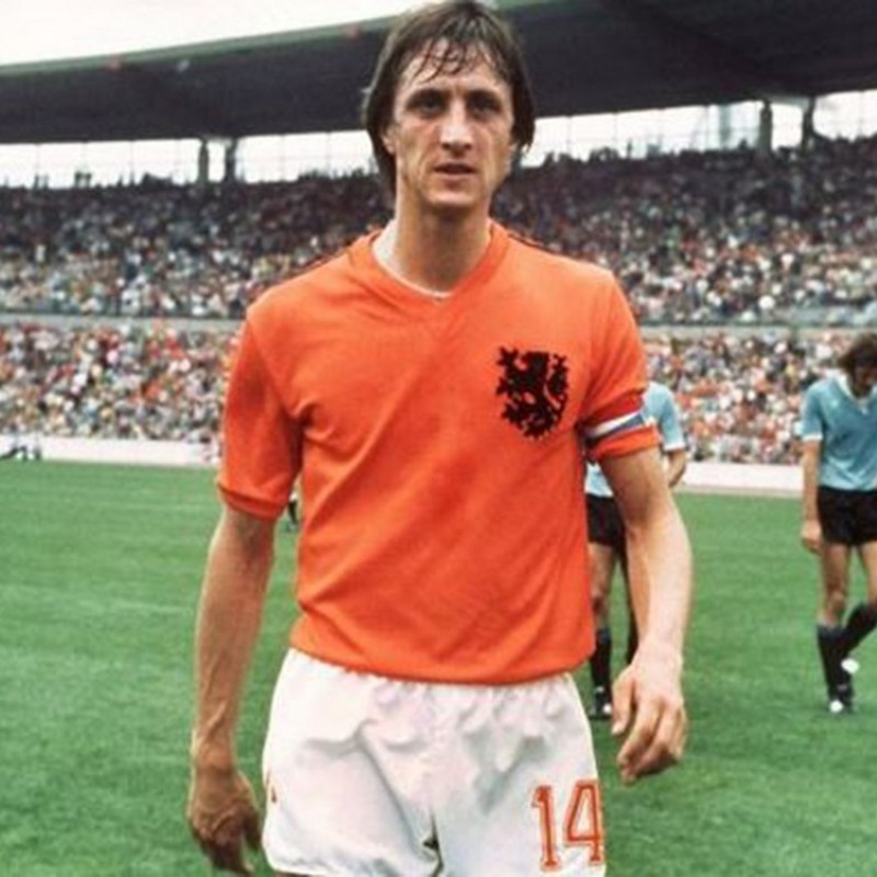 Official Holland Shirt 1986 - Signed by Cruyff