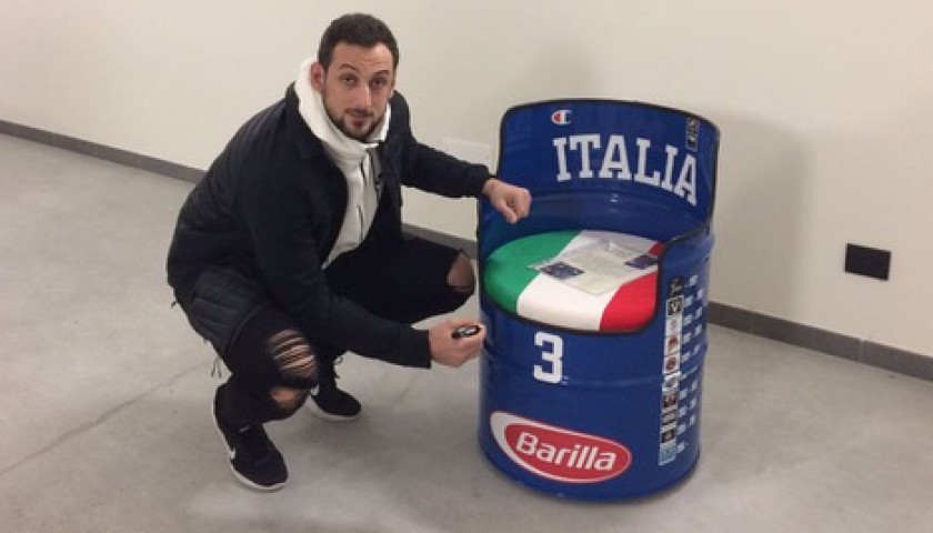 Unique Chair Personalized for Marco Belinelli