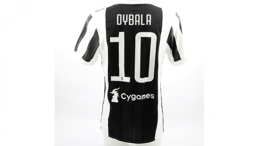 f5809414892 Dybala s Unwashed Match-Worn Juventus Shirt