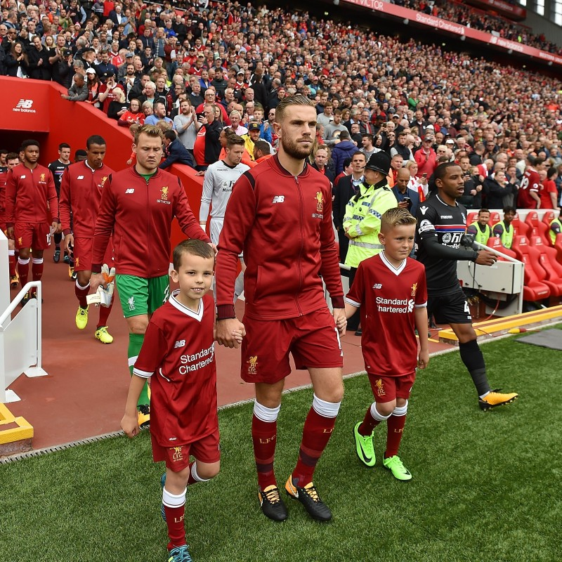 Liverpool FC Mascot Experience