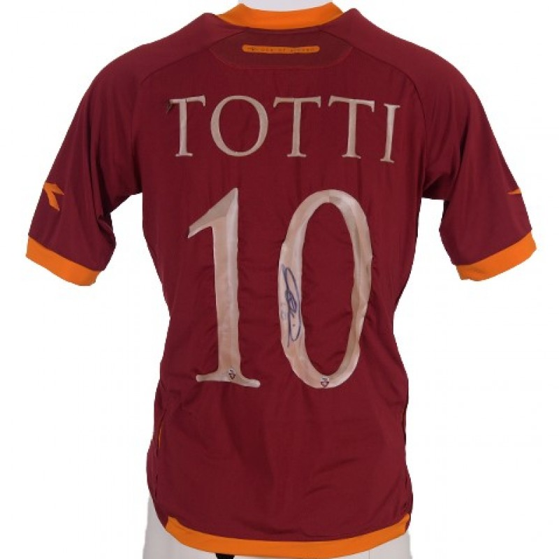 Totti's Signed Shirt, 2006/2007