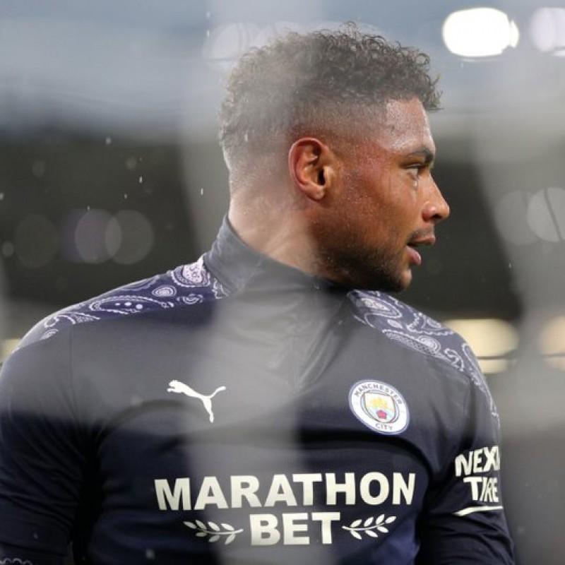 Steffen's Man City Match-Issued Signed Shirt