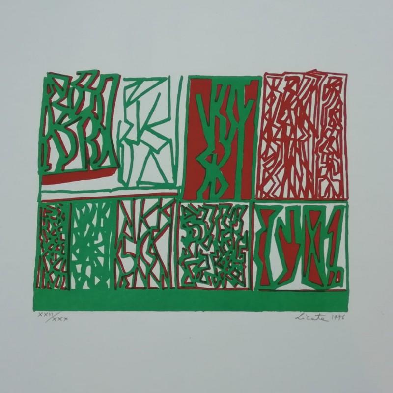 """Lithograph"" by Riccardo Licata"