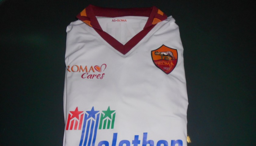Gianluca Caprari shirt worn, Milan-Roma Serie A 2014/2015
