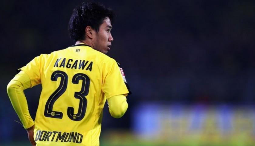 Kagawa S Official Borussia Dortmund Signed Shirt 2016 17 Charitystars