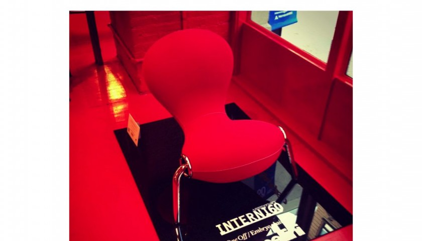 Cappellini for INTERNI 60 - Embyro chair - Special edition