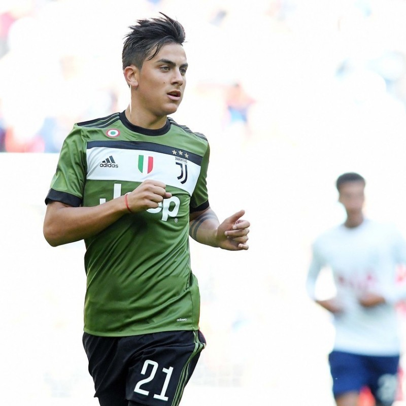 Dybala's Match-Issue Shirt, Chievo-Juventus 2018