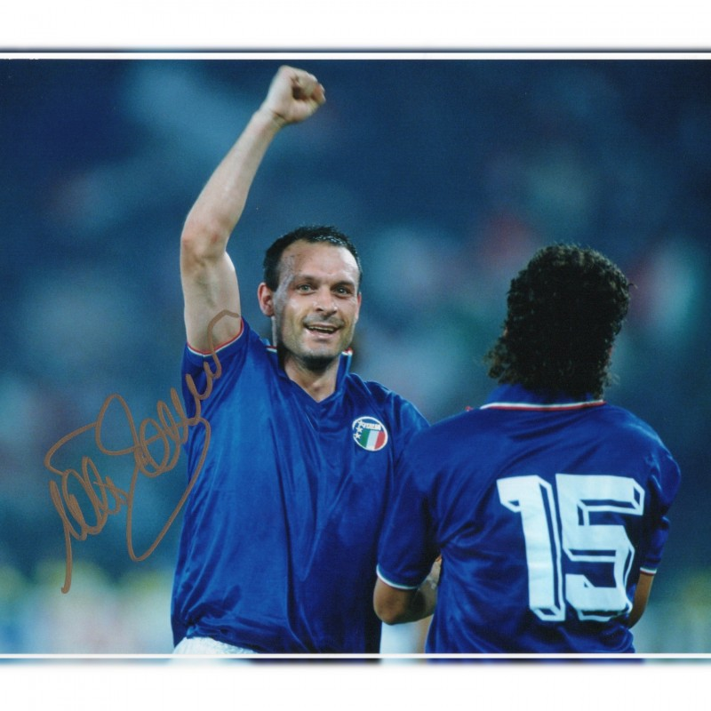 Salvatore Schillaci Signed Photograph