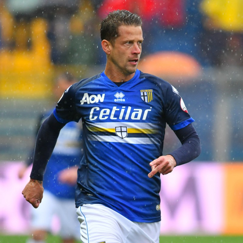 Gazzola's Worn Kit, Parma-Sampdoria - #Blucrociati