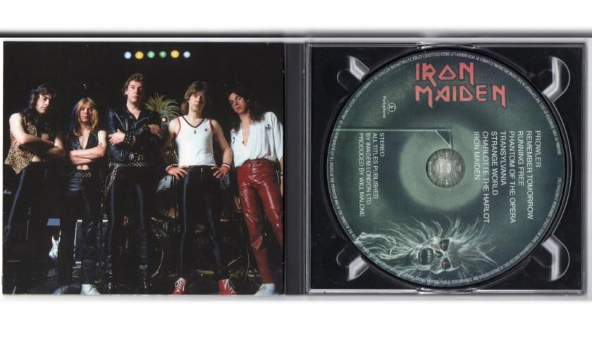 CD Signed by Dennis Stratton - Iron Maiden
