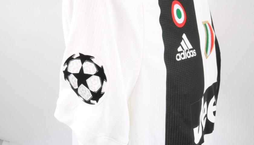 Ronaldo's Juventus Match Shirt, UCL 2018/19