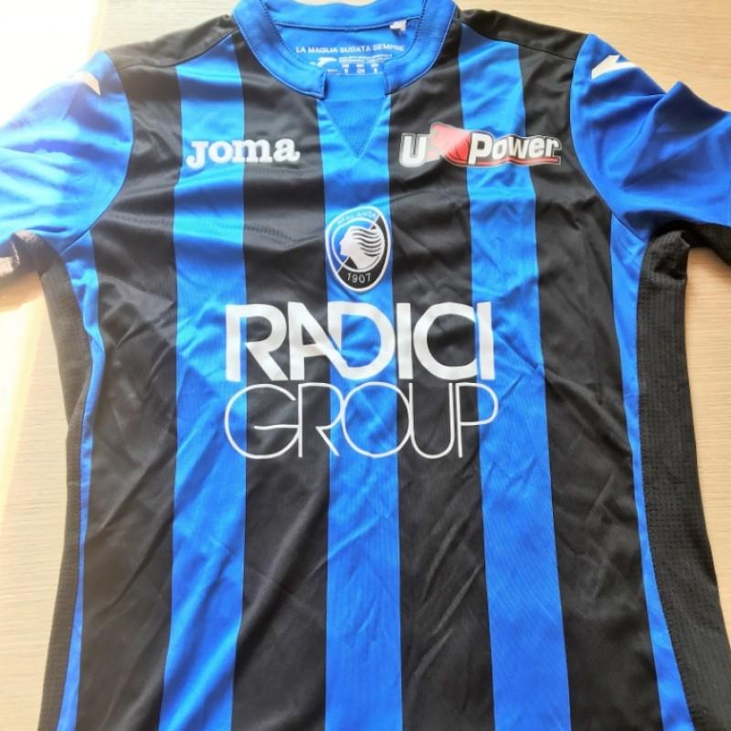 Ilicic's Official Atalanta Signed Shirt, 2018/19 Season