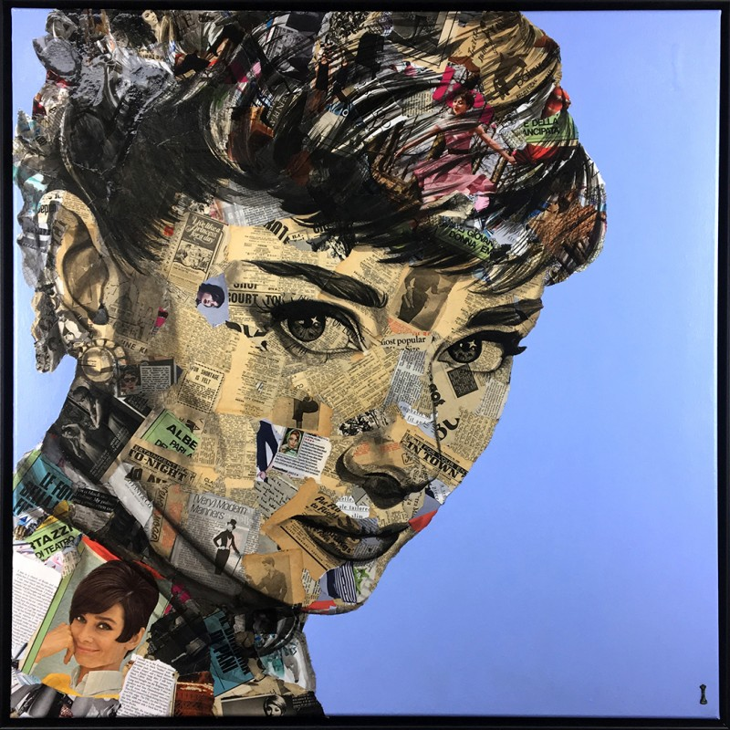 """Audrey"" by Chess, Framed"