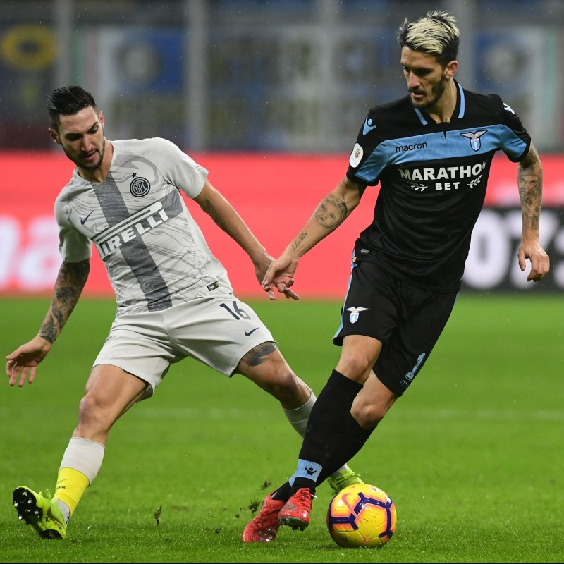Luis Alberto's Match Shirt, Inter-Lazio 2019