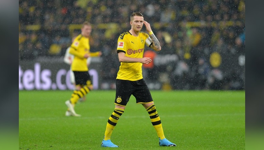 Reus Official Borussia Dortmund Signed Shirt Framed Charitystars