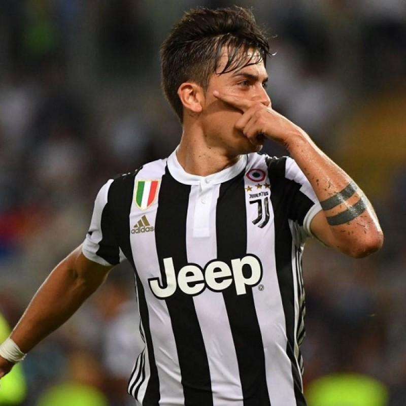 Dybala's Authentic Juventus Signed Shirt, 2017/18