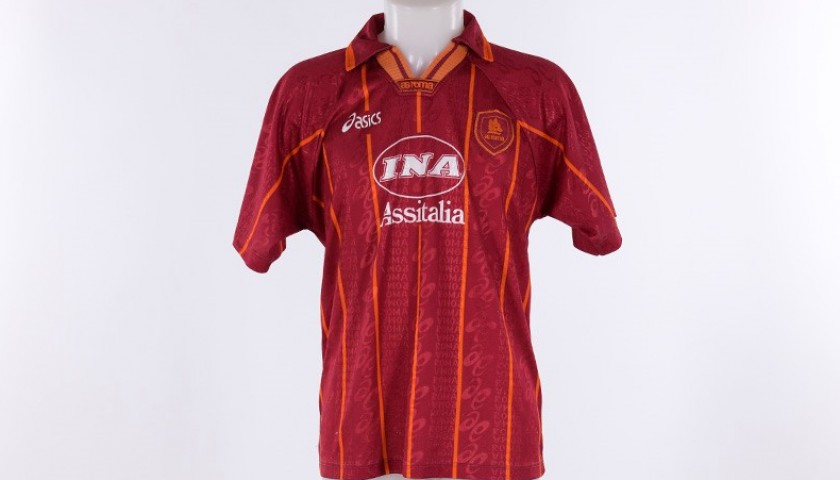 Francesco Totti's Signed 1996/97 Shirt