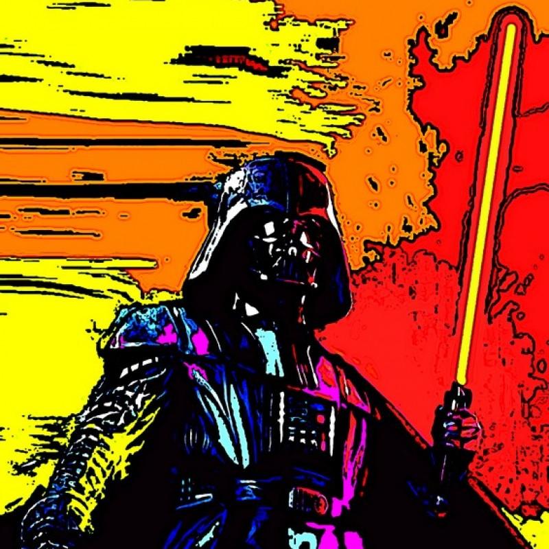 """""""Star Wars"""" Original Limited Edition Board by G.Karloff"""
