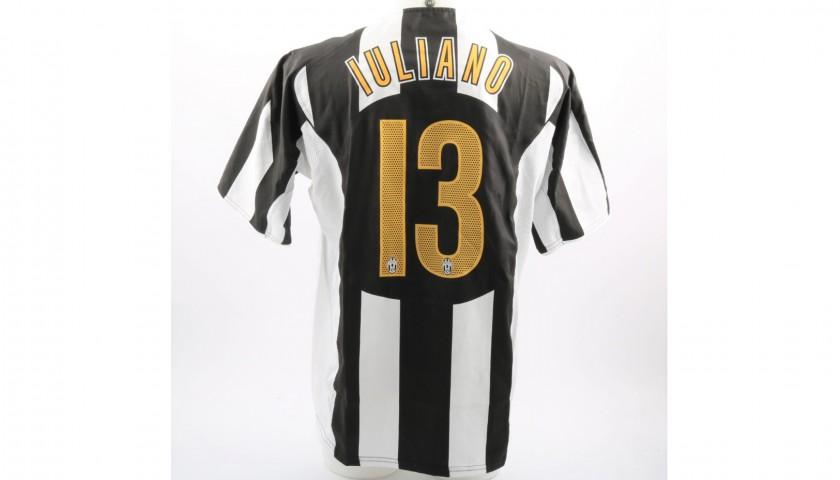 quality design f2593 70b1d Iuliano's Juventus Match-Issue/Worn UCL 2004/05 Shirt - CharityStars