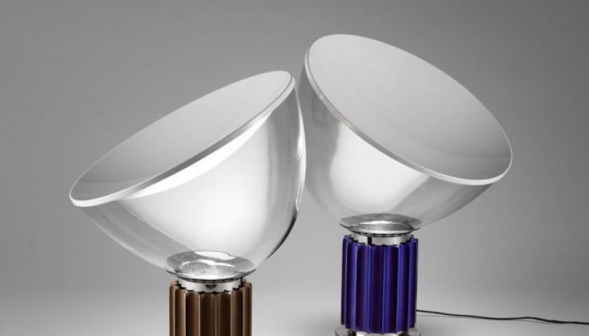 "Purple Flos ""Taccia"" small lamp"
