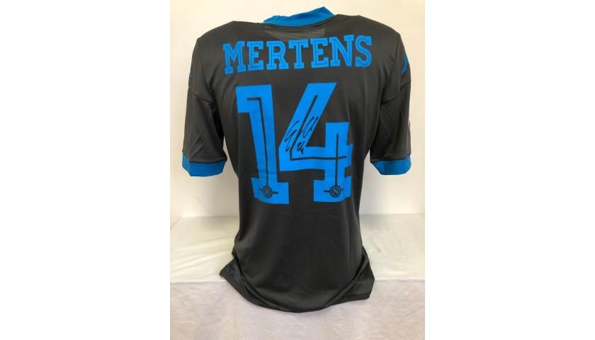 Mertens' Official Napoli Signed Shirt, 2015/16