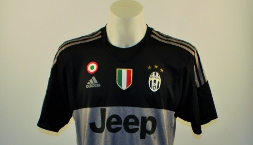 bfebca206 Neto Juventus shirt, issued/worn Serie A 2015/2016 - CharityStars