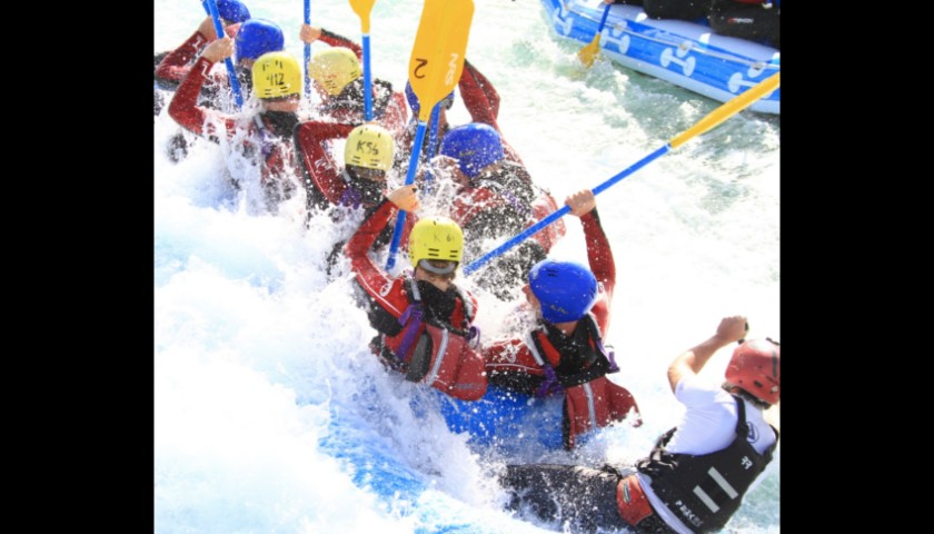 VIP Rafting Day Hosted by a GB Gold Medallist
