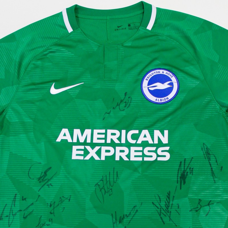 Brighton & Hove Albion Signed Away Shirt 2018/19