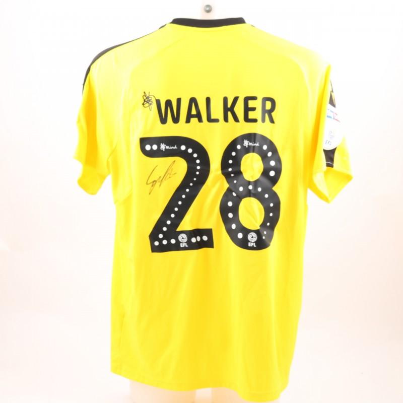 Walker's Match-Worn Reading FC Signed Poppy Home Shirt