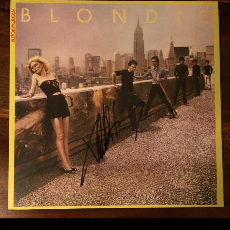 Blondie Vinyl Signed by Debbie Harry
