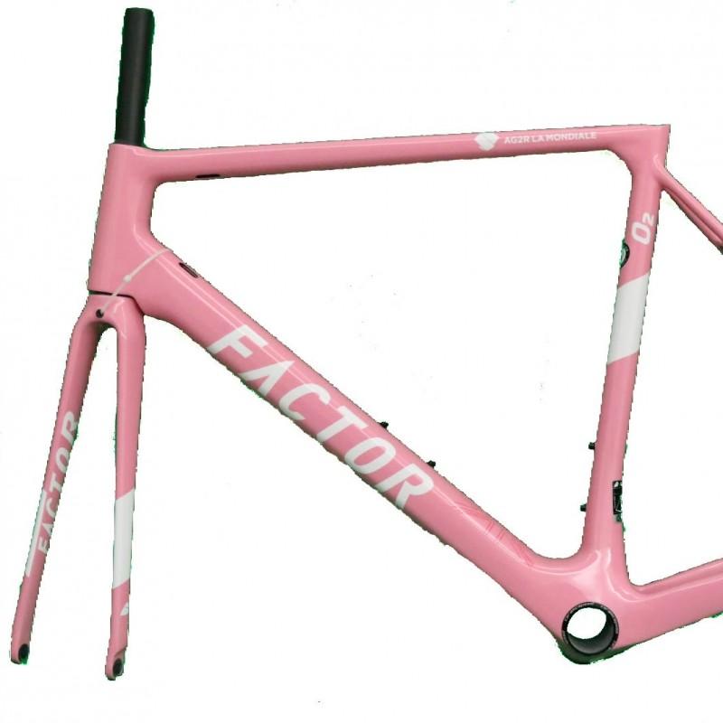Factor Frame Produced for the AG2R La Mondiale Team, Giro d'Italia 2018